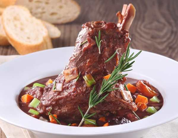 Aromatic Braised Lamb Shanks