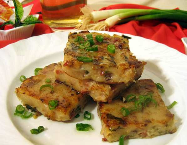 Recipe Turnip Rice Flour Cake